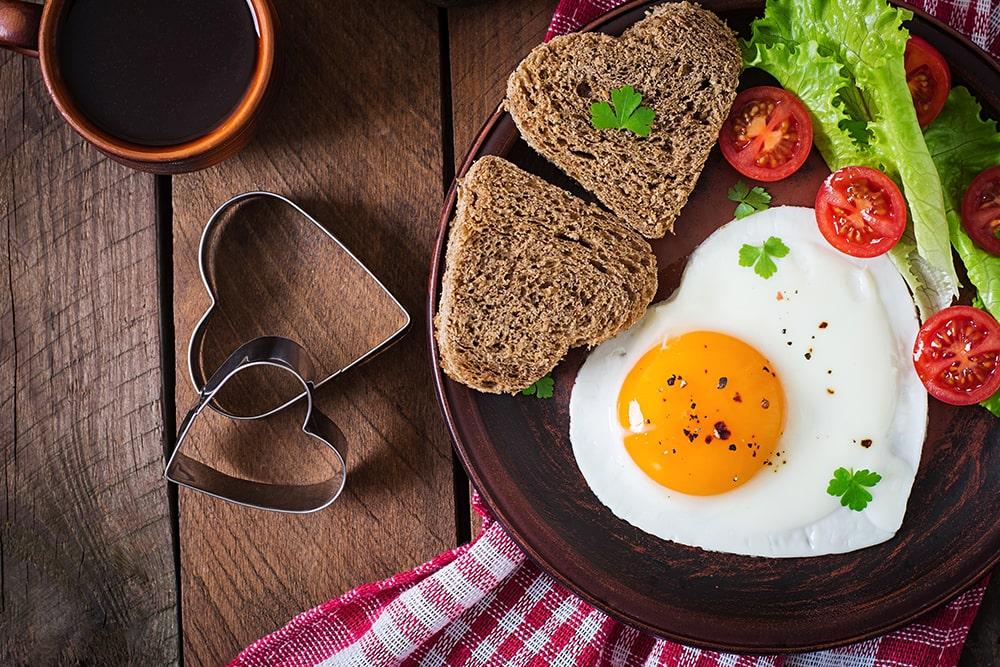 Un ovo ao día, é alegría!