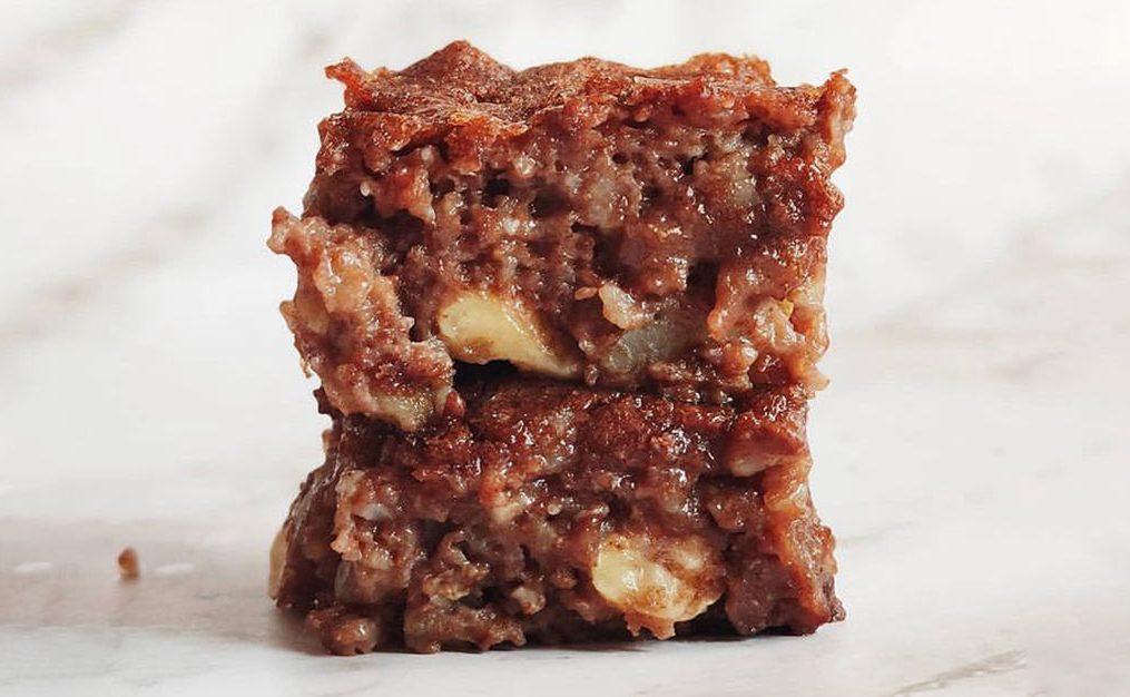 Brownie de pataca de  Gatavegetariana