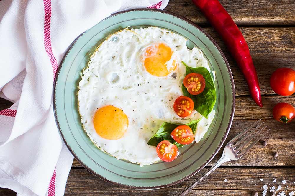 Comer ovos para adelgazar?