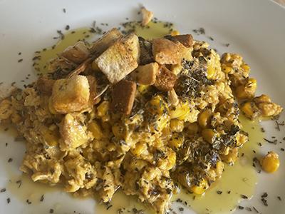 Revolto de ovos Demillo e millo doce